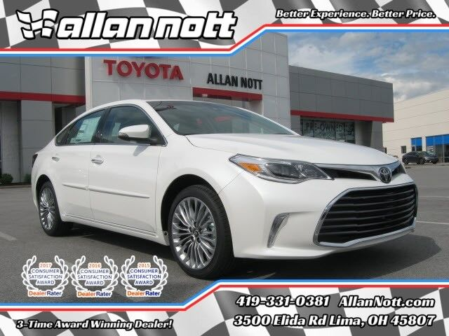 vehicle details 2018 toyota avalon lima allan nott toyota. Black Bedroom Furniture Sets. Home Design Ideas