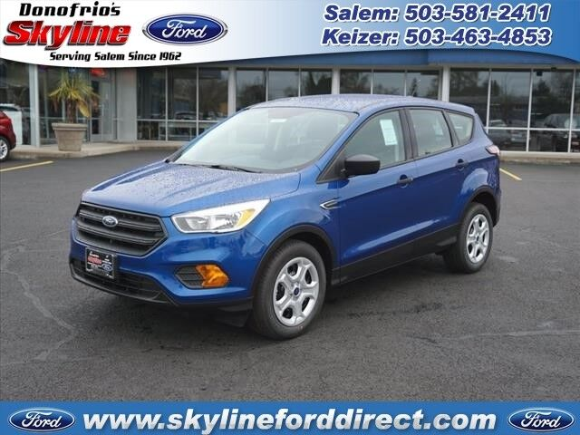 2017 Ford Escape Suv Se Lightning Blue Metallic 2017