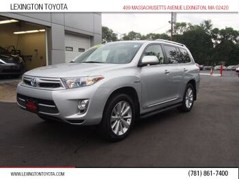 Toyota Highlander Hybrid Limited 2012