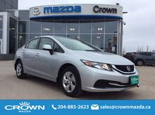 2013 Honda Civic Sdn 4dr Auto LX Winnipeg MB