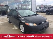 2006 Honda Civic Cpe 2dr DX-G Manual Winnipeg MB