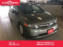 2008 Honda Civic Sdn 4dr Man DX-G Winnipeg MB