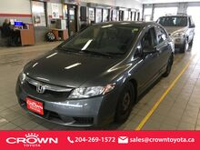 2009 Honda Civic Sdn 4dr Auto DX-G Winnipeg MB