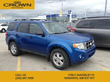 2011 Ford Escape 4WD 4dr V6 Auto XLT Winnipeg MB