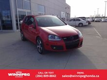 2007 Volkswagen GTI 3-Door Manual Winnipeg MB