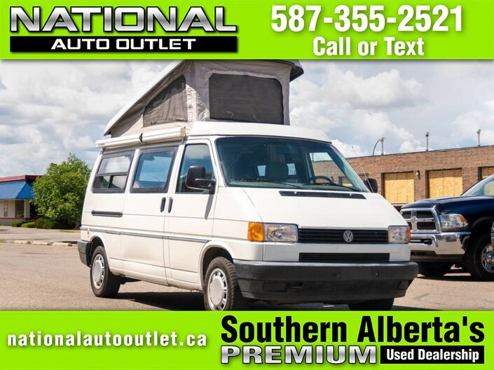 1995 Volkswagen Eurovan Transporter - ONE OWNER Lethbridge AB