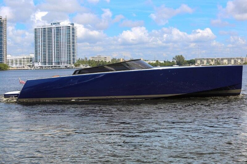 2016 VanDutch 55 Lamborghini Miami Edition North Miami Beach FL