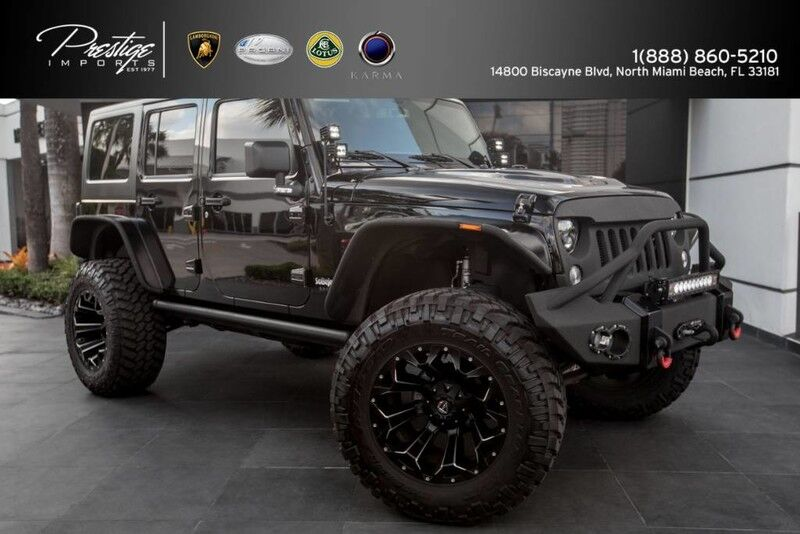 2016 Jeep Wrangler Unlimited Sport North Miami Beach FL