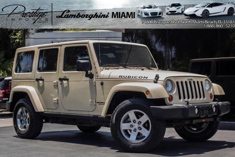 2012 Jeep Wrangler Unlimited Rubicon North Miami Beach FL