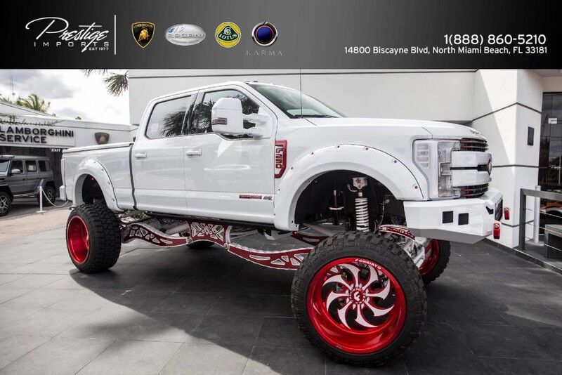 2017 Ford Super Duty F-250 4x4 6.7L Turbo Diesel Lariat North Miami Beach FL