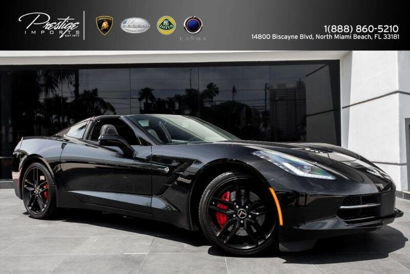 2014 Chevrolet Corvette Stingray Z51 2LT North Miami Beach FL
