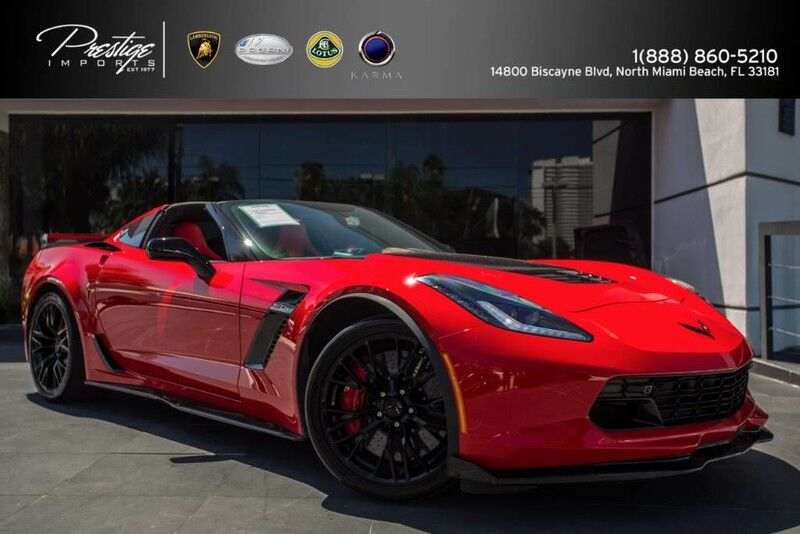 2016 Chevrolet Corvette Z06 3LZ North Miami Beach FL