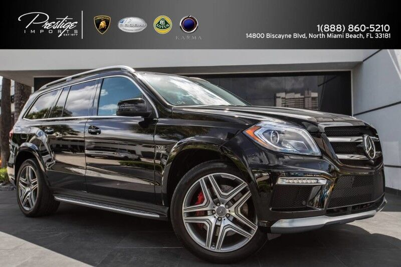 2014 Mercedes-Benz GL 63 AMG North Miami Beach FL