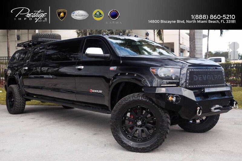 2013 Toyota Tundra [DEVOLRO] Limo Platinum North Miami Beach FL