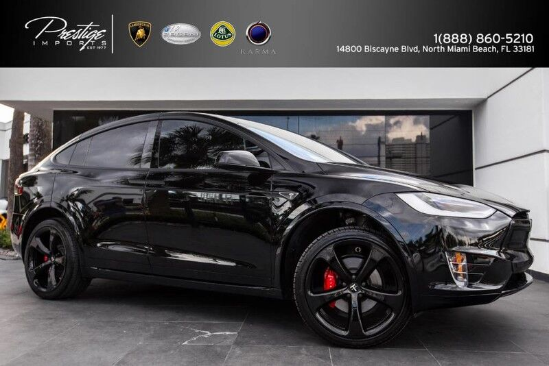 2016 Tesla Model X P90D Founders Edition. 1 of 60 in the World Sportline Customized North Miami Beach FL