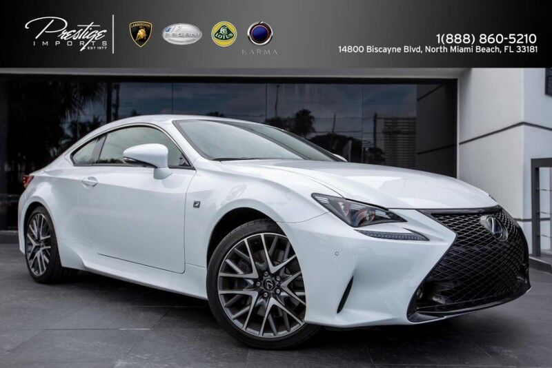 2017 Lexus RC RC 350 F Sport North Miami Beach FL