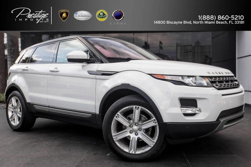 2015 Land Rover Range Rover Evoque Pure Plus North Miami Beach FL