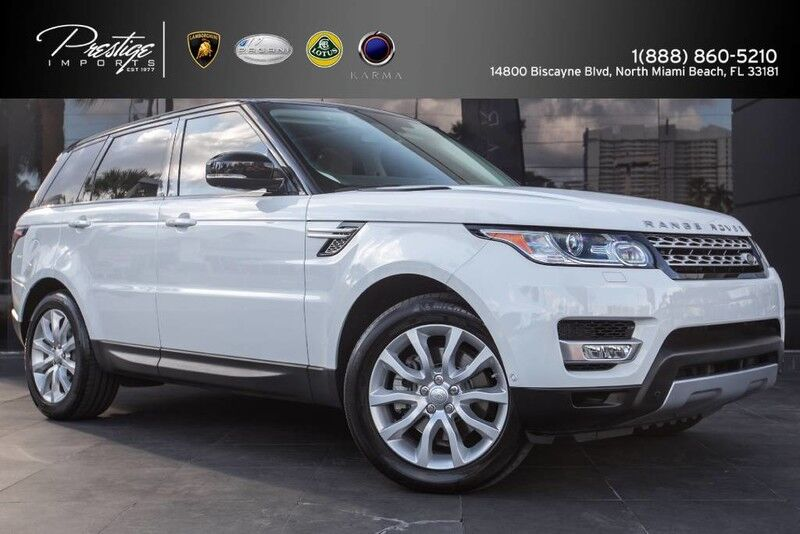 2014 Land Rover Range Rover Sport HSE North Miami Beach FL