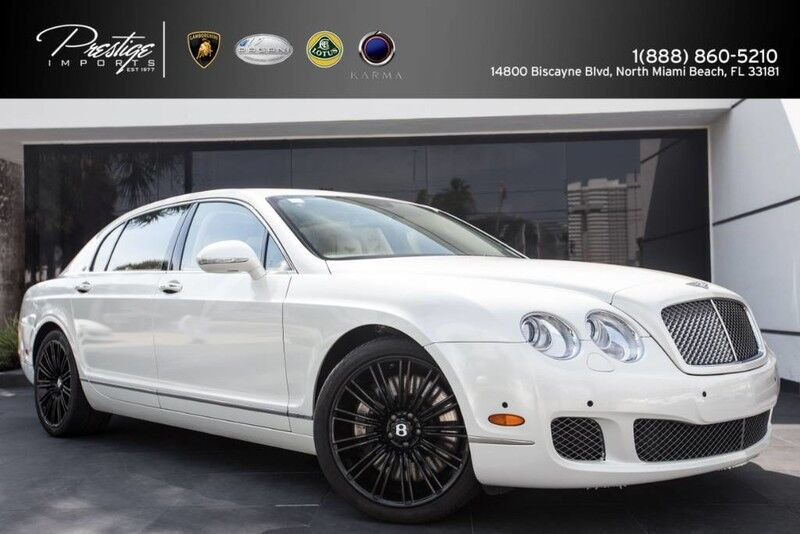 2012 Bentley Continental Flying Spur speed North Miami Beach FL