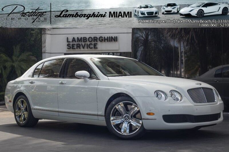 2007 Bentley Continental Flying Spur  North Miami Beach FL