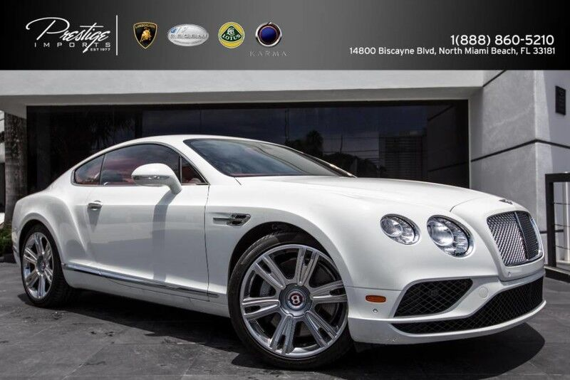 2016 Bentley Continental GT V8 North Miami Beach FL