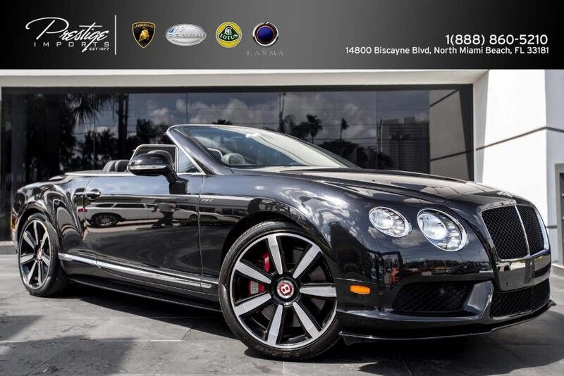 2014 Bentley Continental GT V8 S  North Miami Beach FL