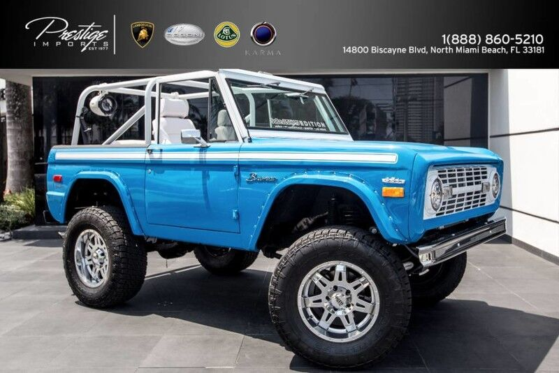 1971 Ford Bronco  North Miami Beach FL