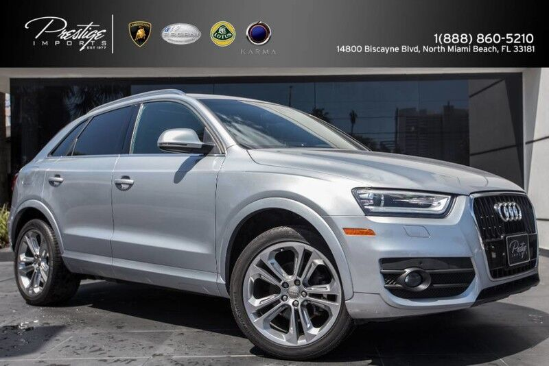 2015 Audi Q3 2.0T Premium Plus North Miami Beach FL