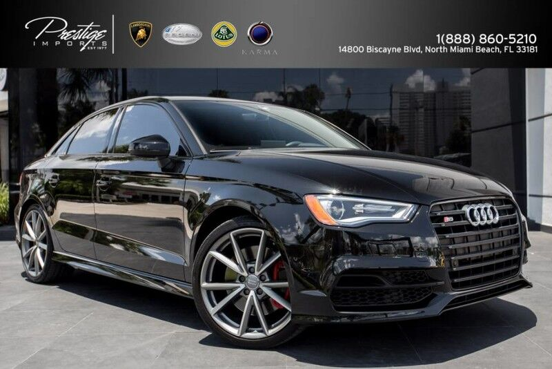 2016 Audi S3 Premium Plus North Miami Beach FL