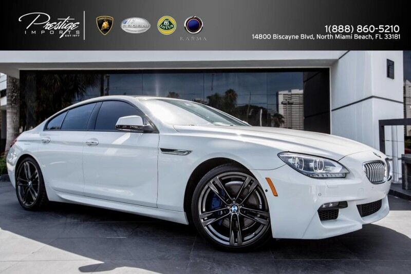 2014 BMW 6 Series 650i Sedan North Miami Beach FL
