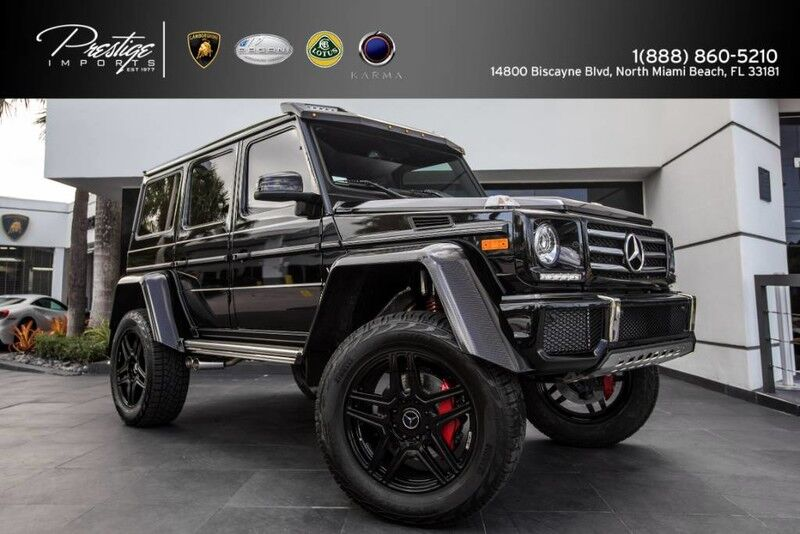 2017 Mercedes-Benz G-Class G 550 4x4 Squared North Miami Beach FL
