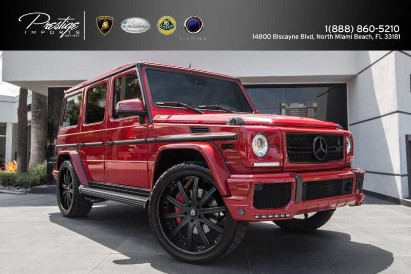 2016 Mercedes-Benz G-Class AMG G 63 North Miami Beach FL