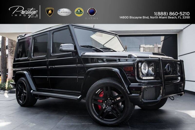 2014 Mercedes-Benz G63 AMG North Miami Beach FL