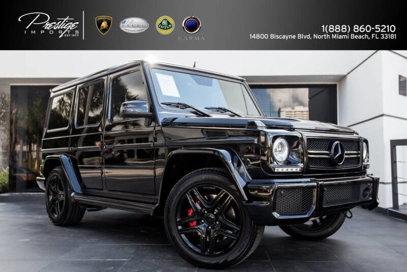 2013 Mercedes-Benz G 63 AMG Renntech North Miami Beach FL