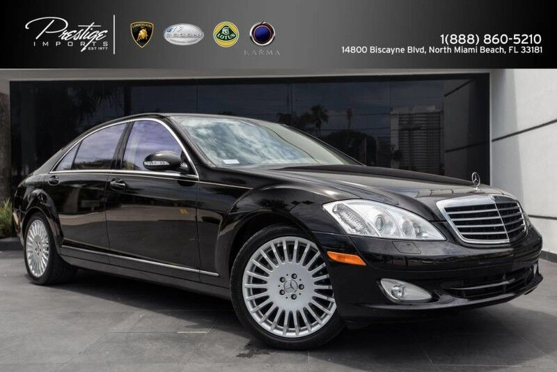 2007 Mercedes-Benz S-Class 5.5L V8 North Miami Beach FL
