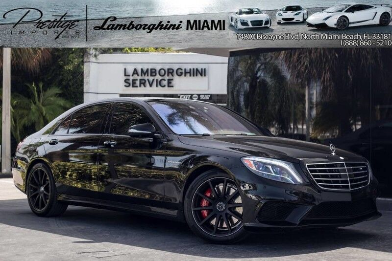 2015 Mercedes-Benz S 63 AMG Renntech North Miami Beach FL