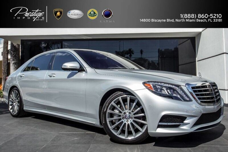 2015 Mercedes-Benz S 550 North Miami Beach FL
