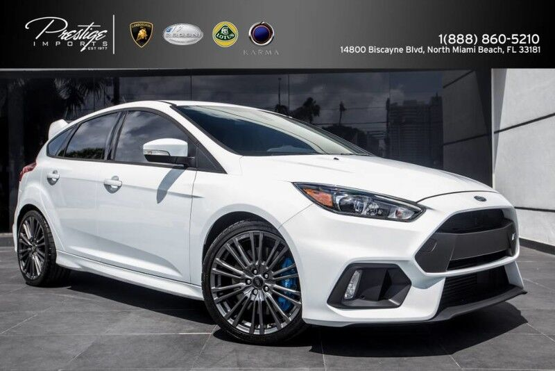 2016 Ford Focus RS North Miami Beach FL