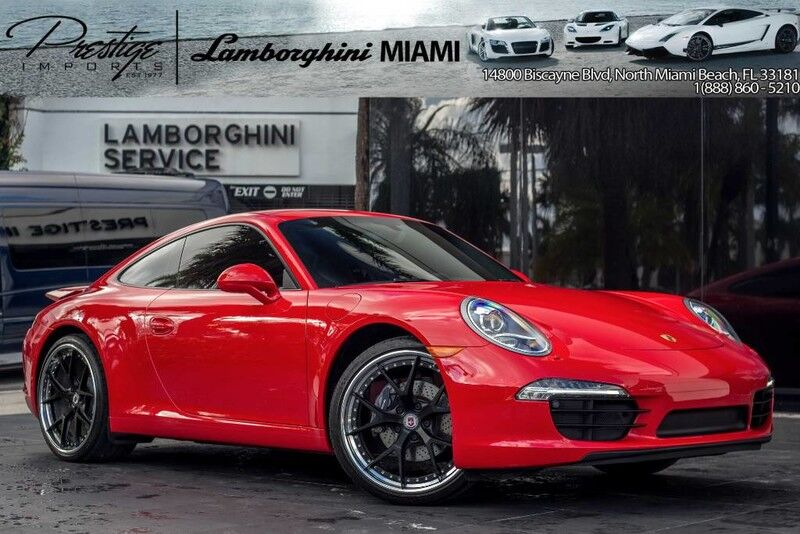 2014 Porsche 911  North Miami Beach FL