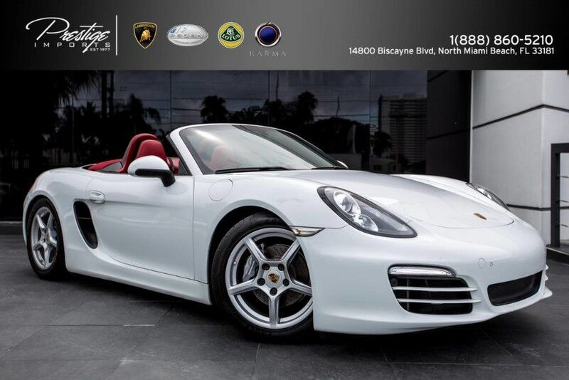 2013 Porsche Boxster  North Miami Beach FL