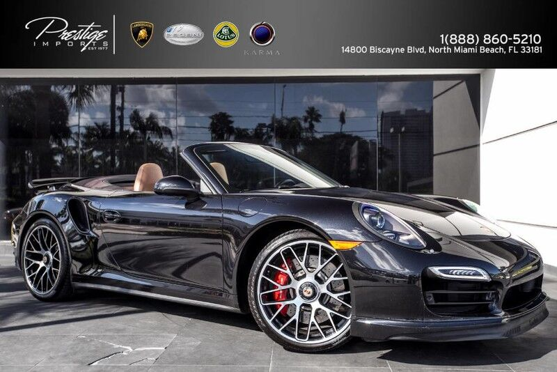 2015 Porsche 911 Turbo Cabriolet North Miami Beach FL