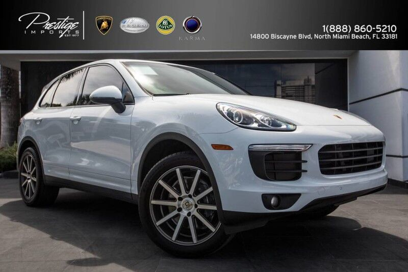 2016 Porsche Cayenne  North Miami Beach FL