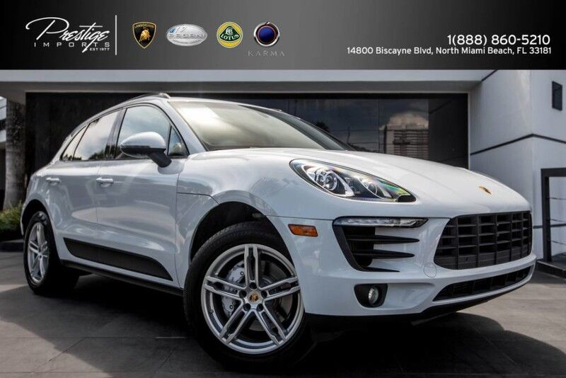 2016 Porsche Macan S North Miami Beach FL