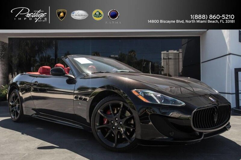 2015 Maserati GranTurismo Convertible Sport North Miami Beach FL