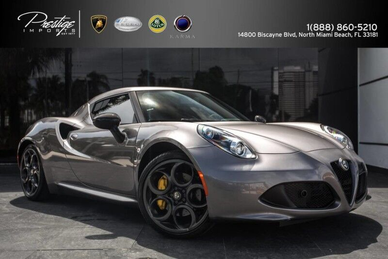 2015 Alfa Romeo 4C  North Miami Beach FL