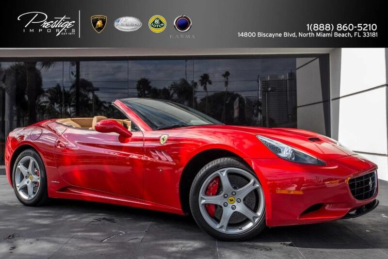 2010 Ferrari California  North Miami Beach FL