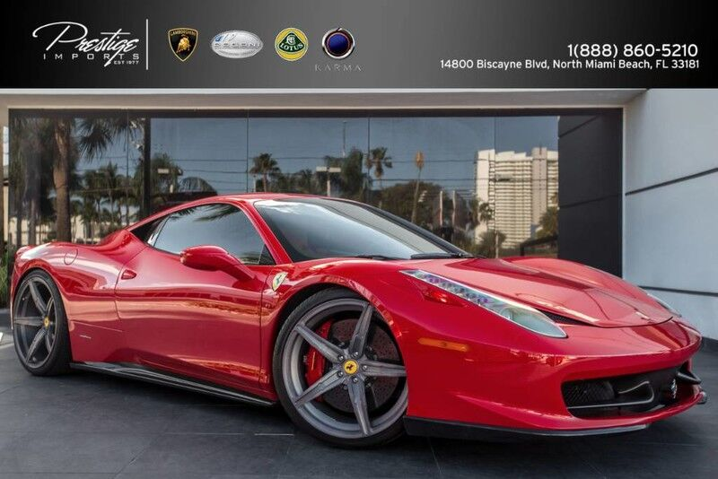 2011 Ferrari 458 Italia Coupe  North Miami Beach FL
