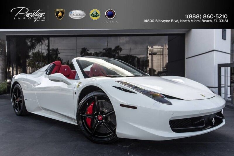 2013 Ferrari 458 Italia  North Miami Beach FL