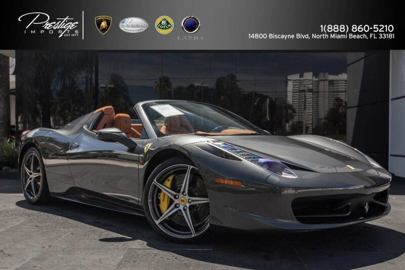 2015 Ferrari 458 Italia  North Miami Beach FL