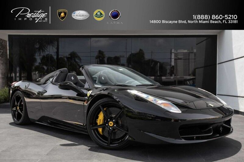 2012 Ferrari 458 Italia  North Miami Beach FL